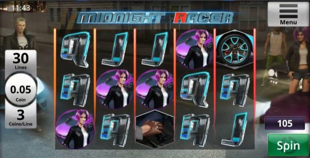 Midnight Racer Free Slots