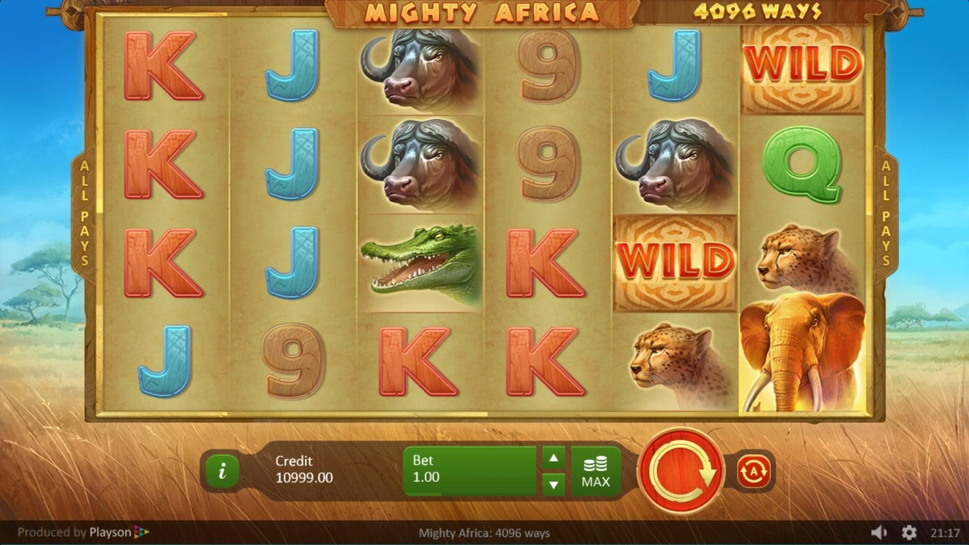 Mighty Africa slots games