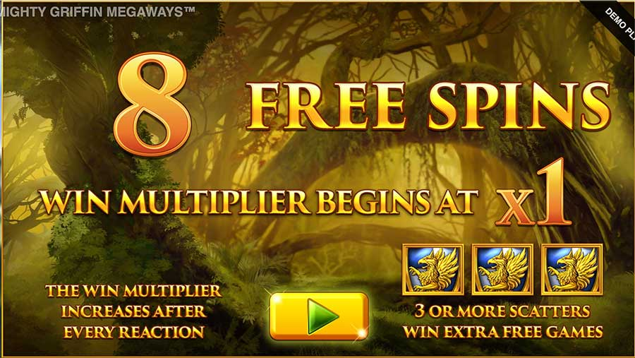 Mighty Griffin MegaWays Free Spins