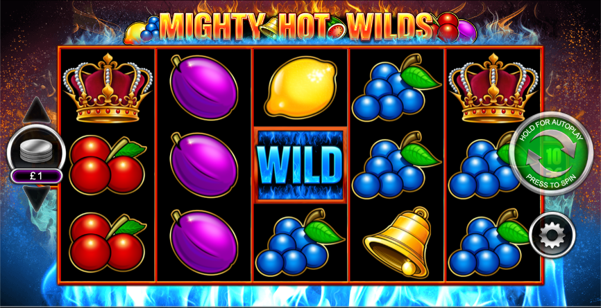 Mighty Hot Wilds Slot Game Play