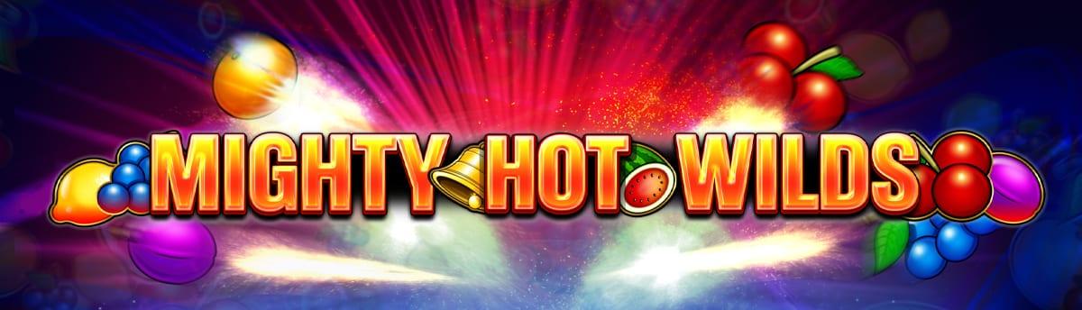 Mighty Hot Wilds Slot Logo Wizard Slots