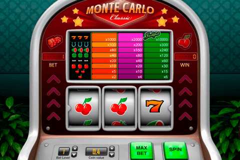 Monte Carlo Classic online slots game