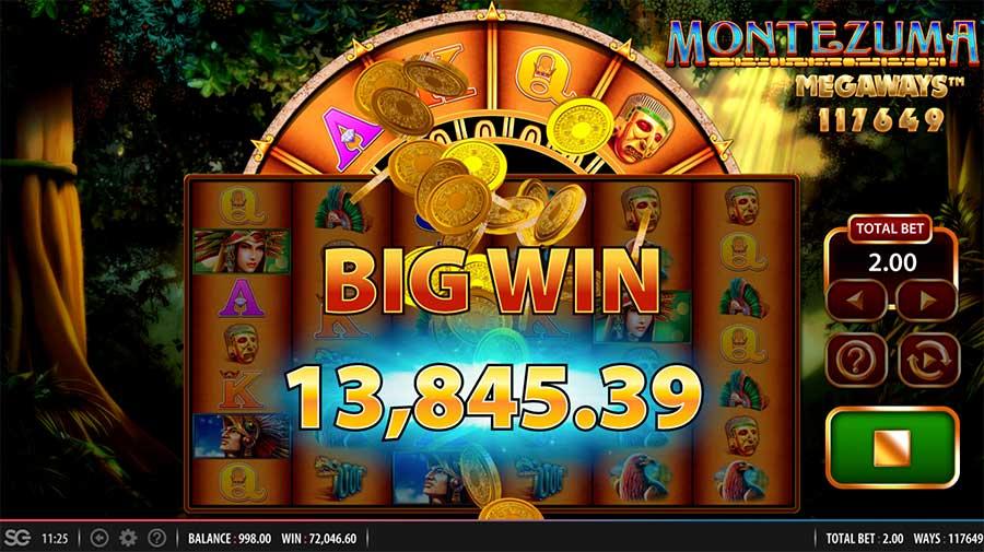 Montezuma Megaways Slot Online