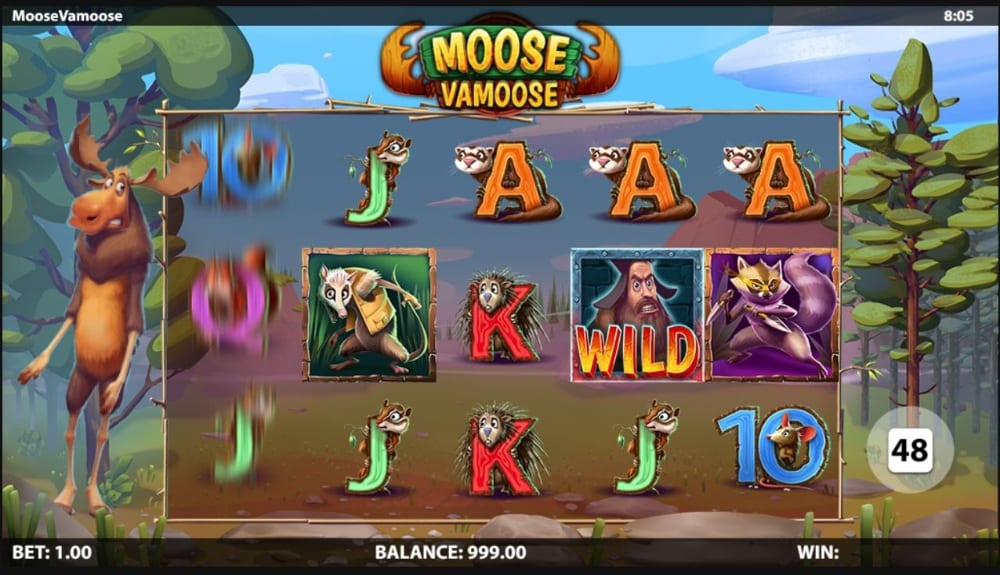 Moose Vamoose Slot Game