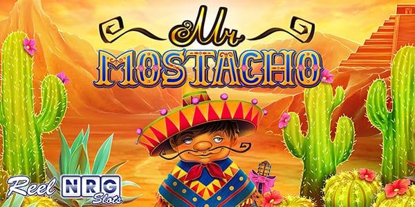 Mr Mostacho Slot Logo Wizard Slots