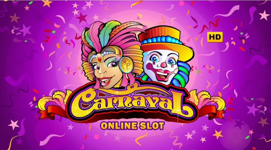 Carnaval online slots game logo