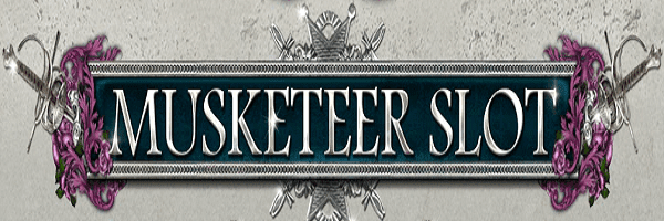 musketeer slot slots game logo