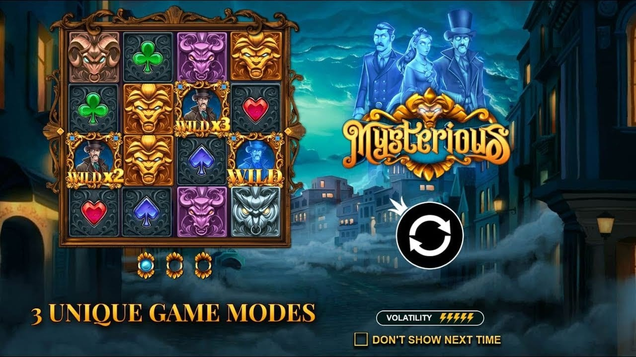 Mysterious Slots Online