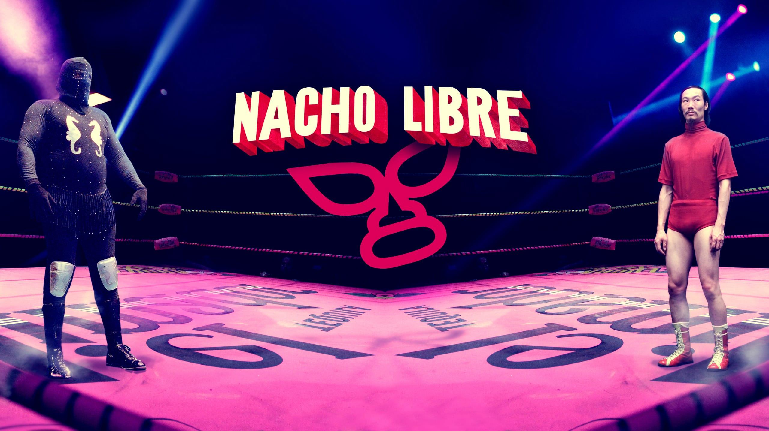 Nacho Libre online slots game logo