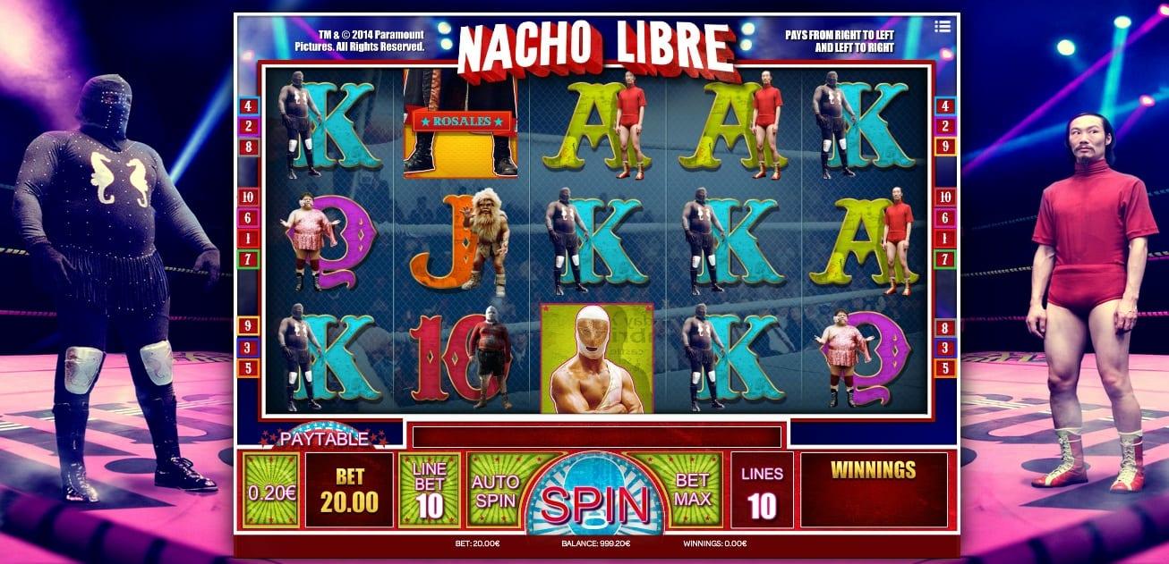 Nacho Libre online slot game
