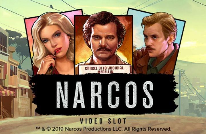 narcos logo slot