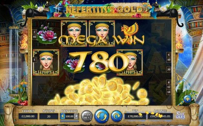 Nefertiti's Gold Free Slots