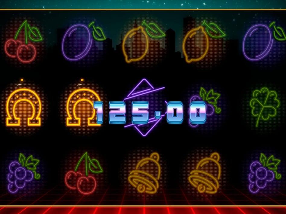 Neon Fruit Cityscape Slot