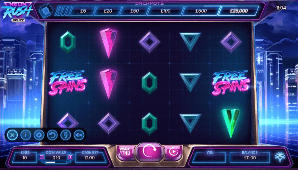 Neon Rush Slot Game