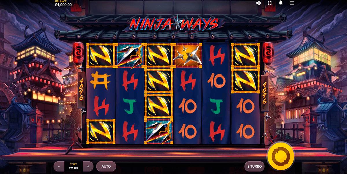Ninja Ways Slots Gameplay