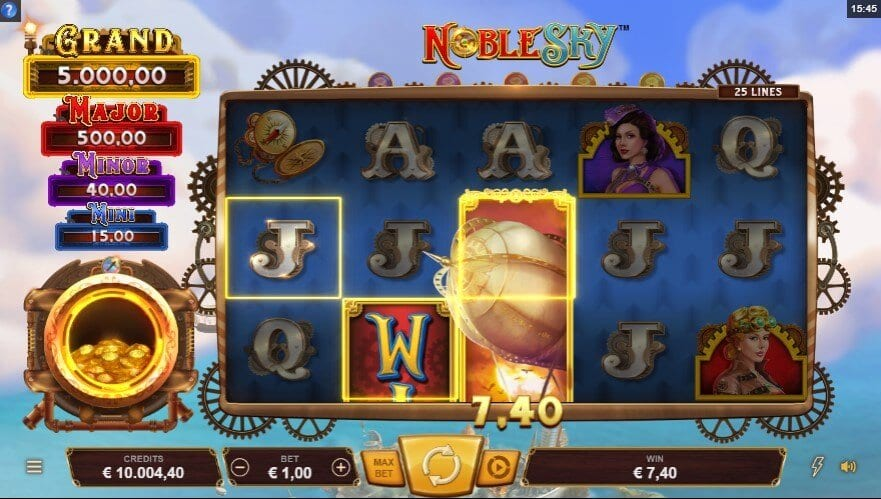 Noble Sky Slot Win
