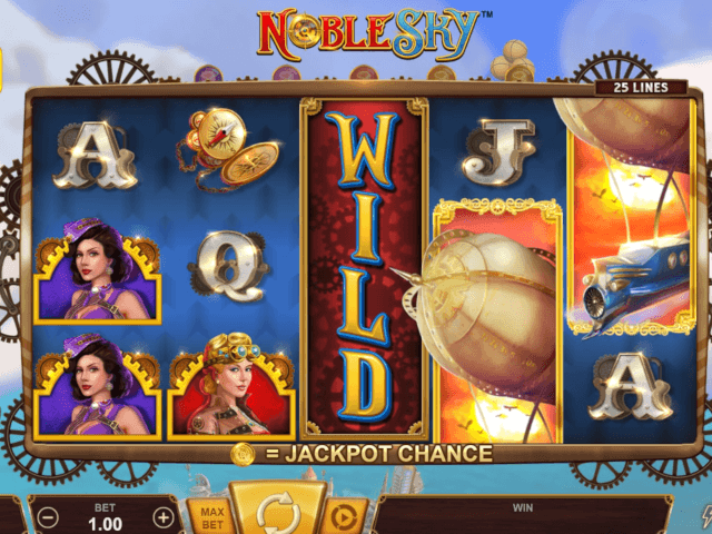 Noble Sky Slot Game Play