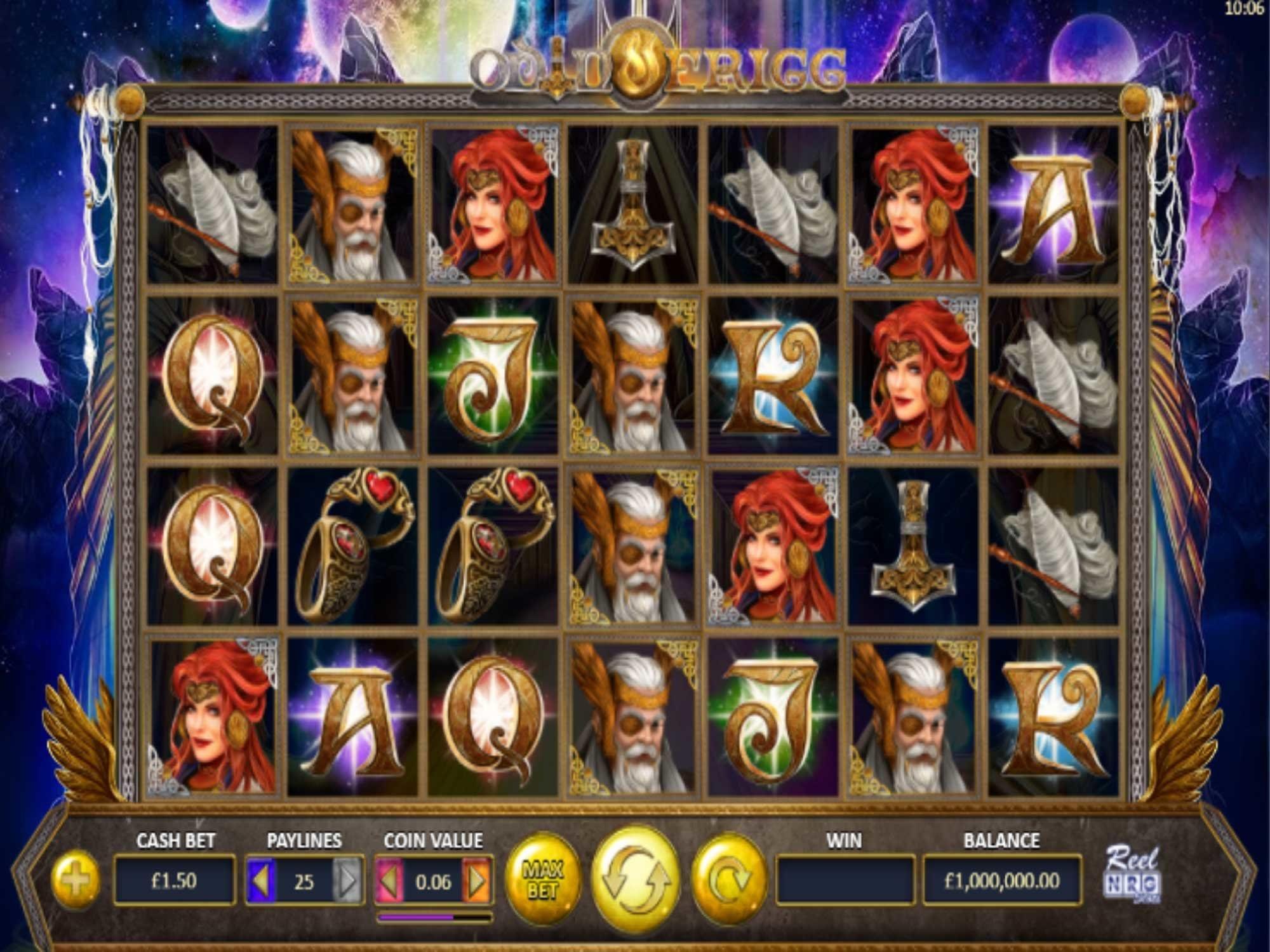 Odin and Frigg Slot Game