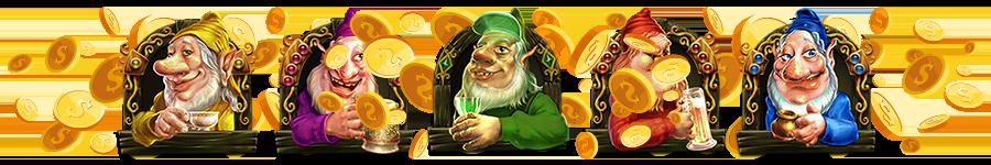 dwarven gold Deluxe Slot Wizard Slots