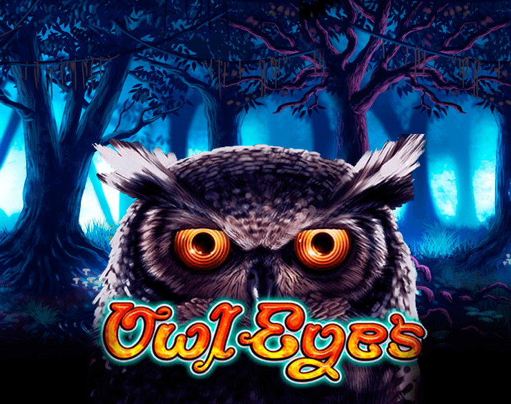 Owl Eyes online slots game logo