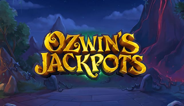 Ozwin's Jackpots Slot Game logo