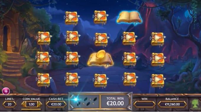 Ozwin's Jackpots Bonus Game