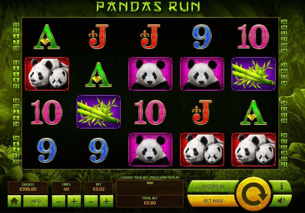 Panda Run Slots Game