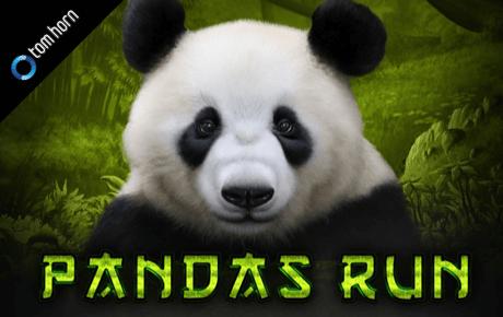 Panda Run Logo slot