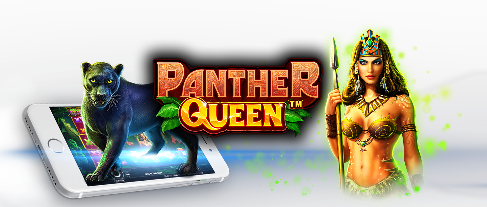 panther queen slots game logo