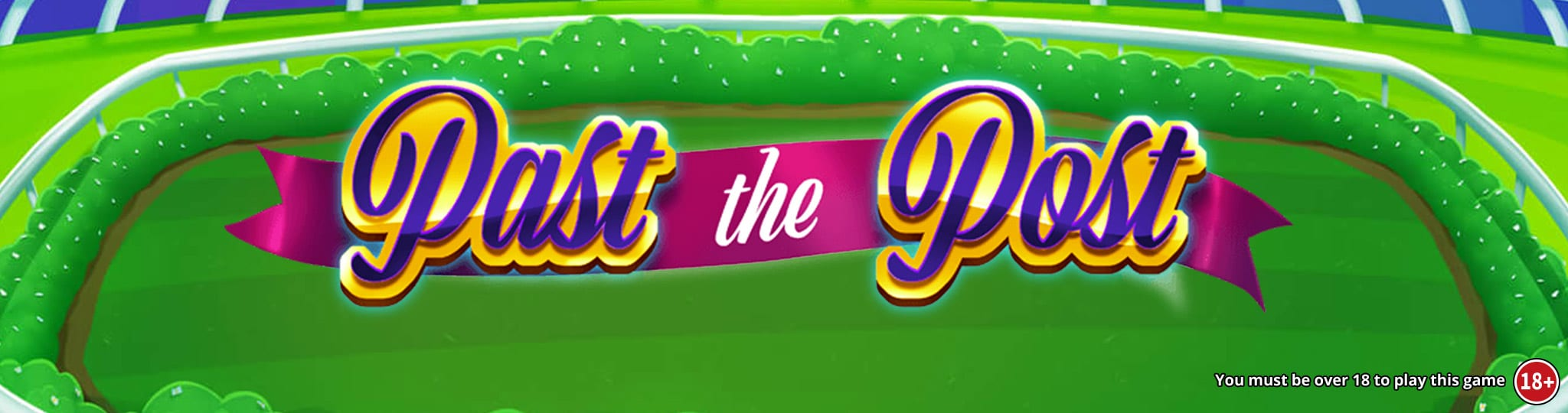 past the post slot game logo
