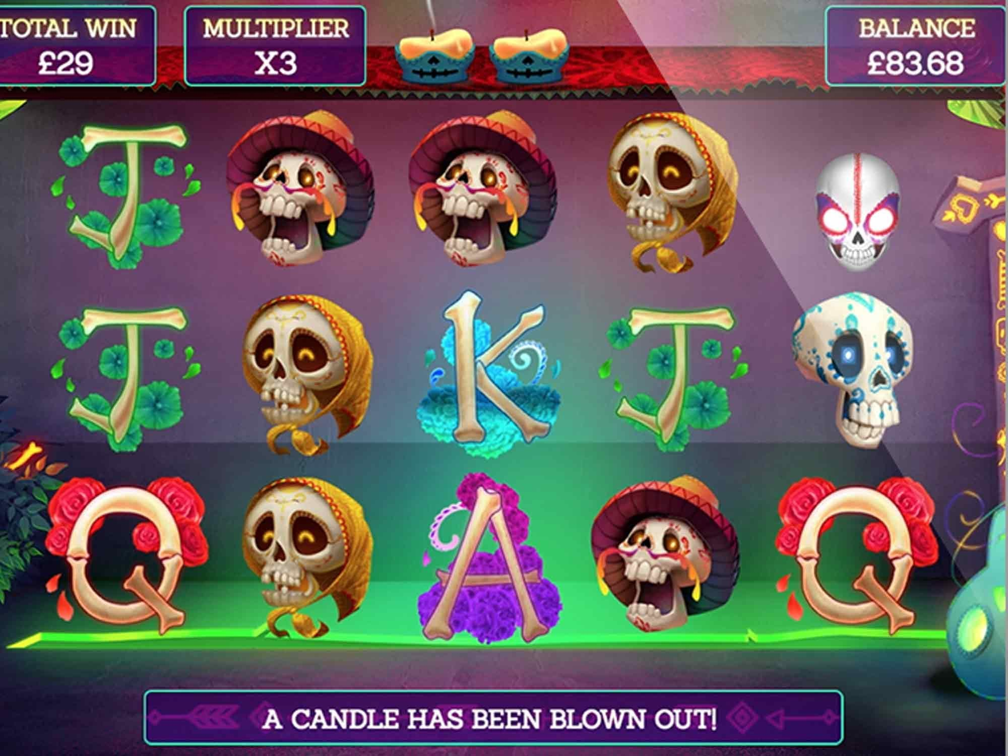 Pay of the Dead Slot Game
