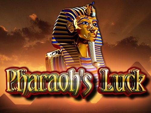 Pharaohs Luck online slots game logo