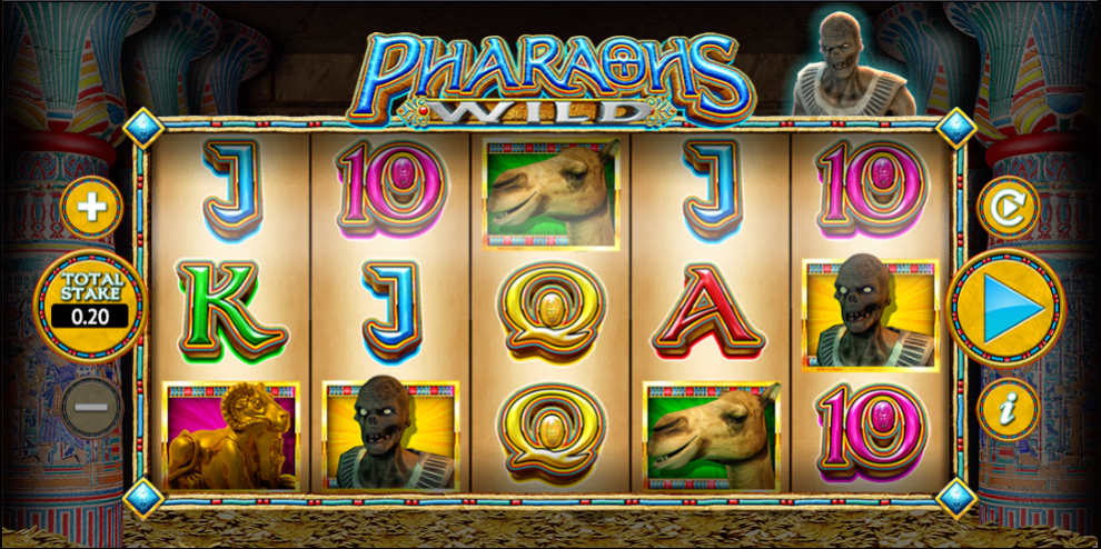 Pharaoh's Wild Gameplay