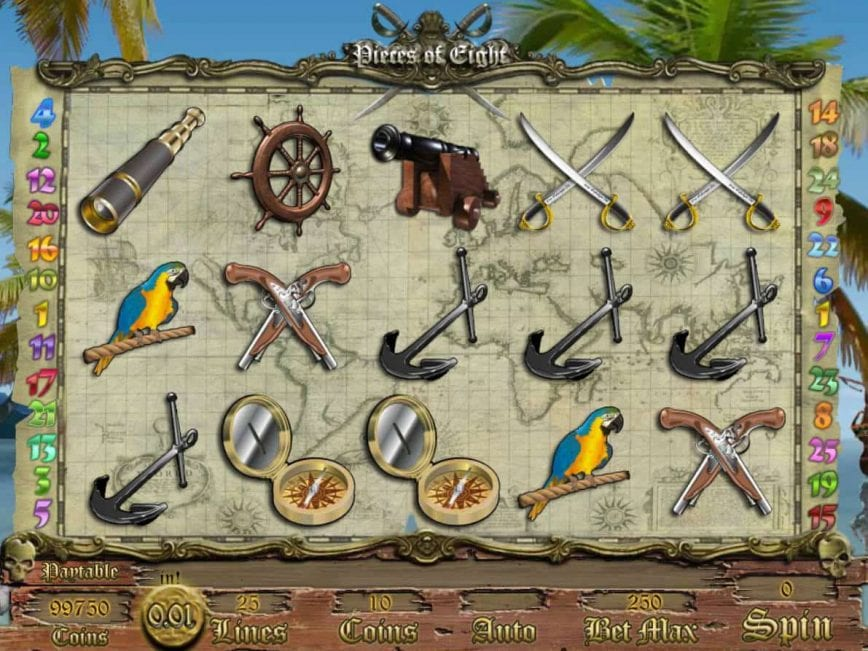 Pieces Of Eight Slot Game