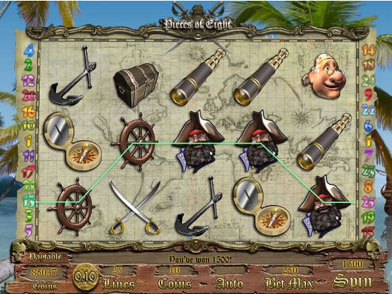 Pieces Of Eight Slot Online