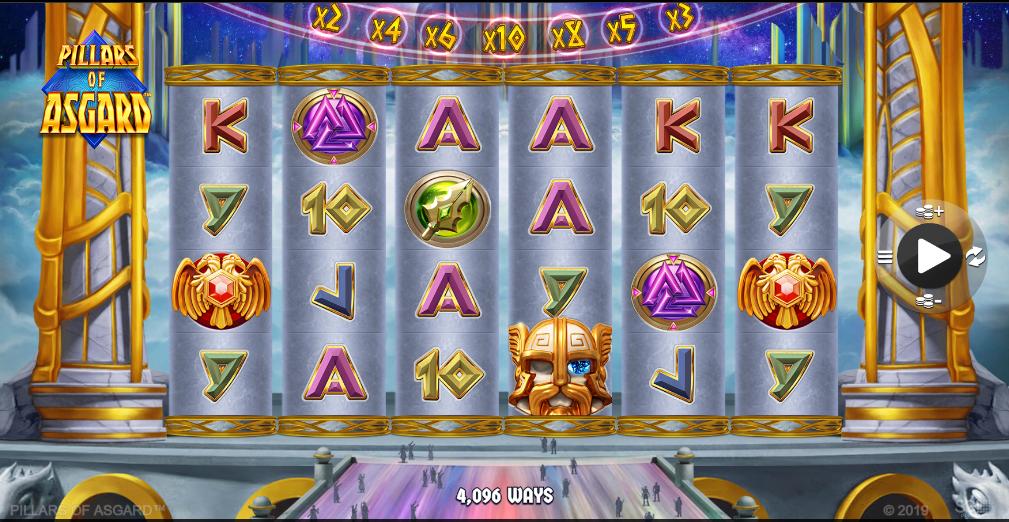 Pillars of Asgard Slot Game