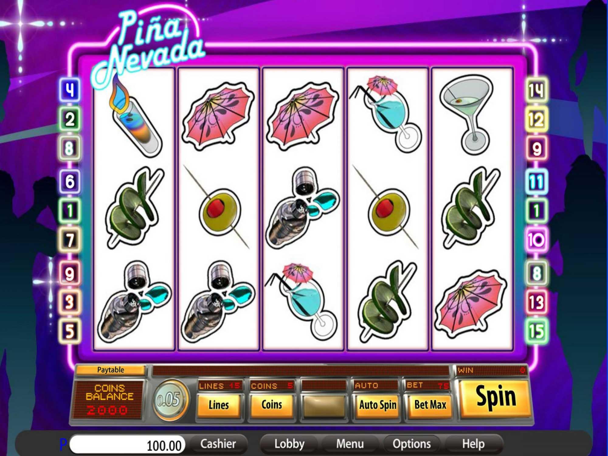 Pina Nevada Slot Game
