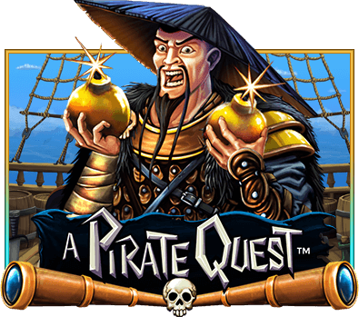 Pirate Quest Slot Logo Wizard Slots