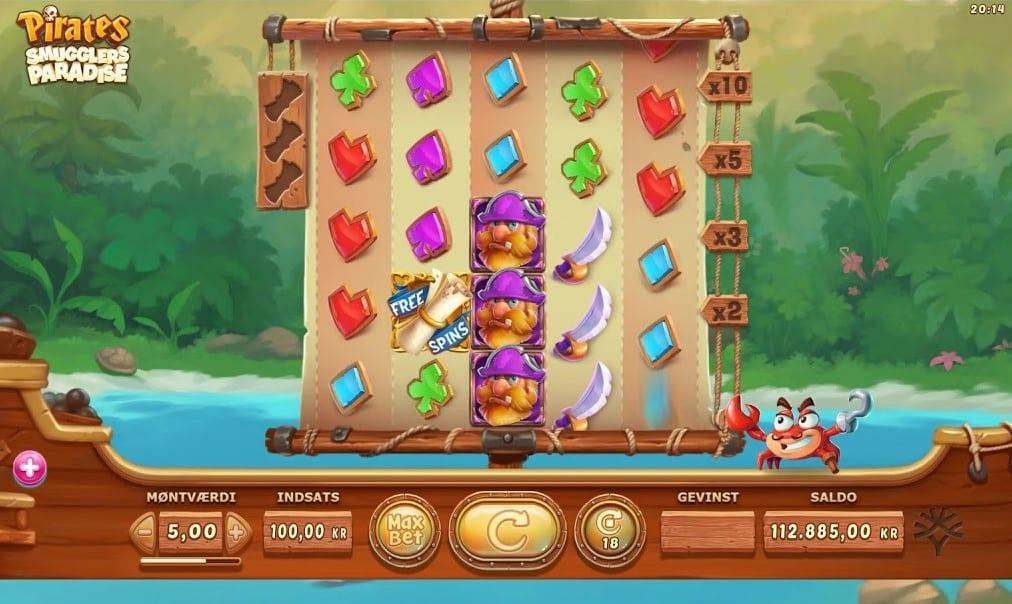 Pirates Smugglers Paradise Free Slots