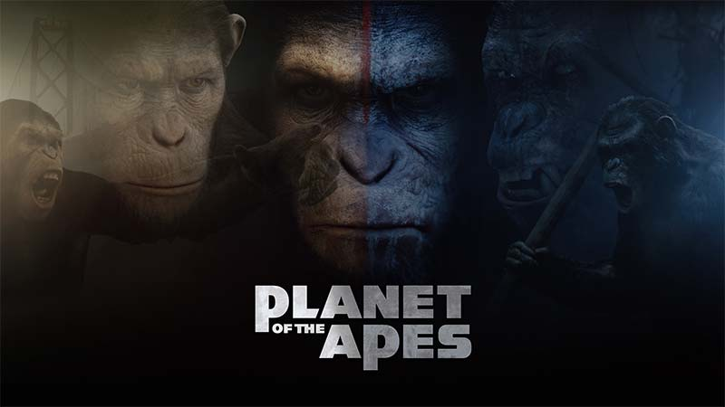 Planet of the Apes Slots Game logo