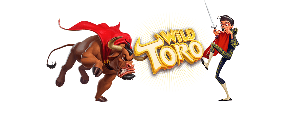 Wild Toro online slots game logo