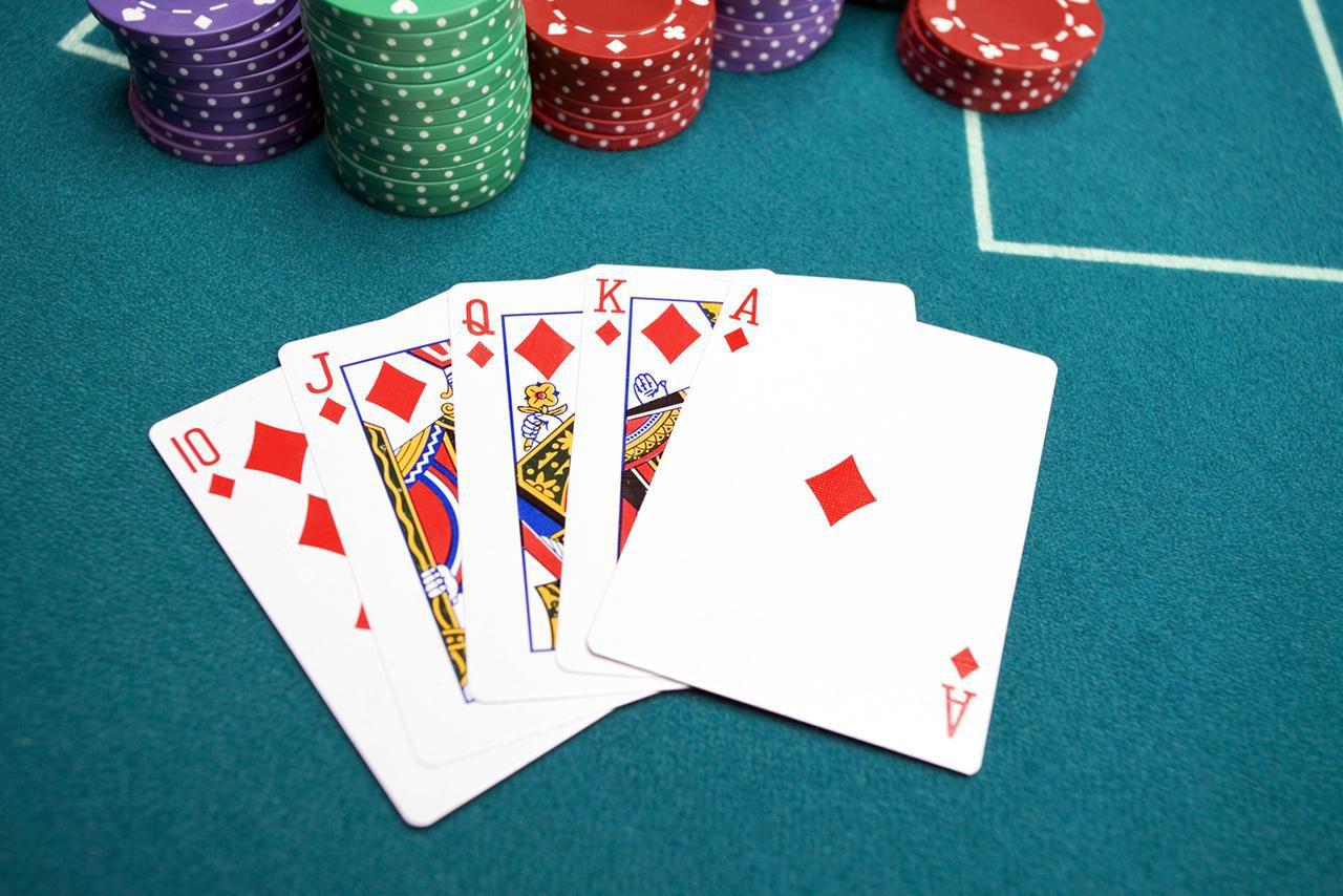 Poker Hand Royal Flush