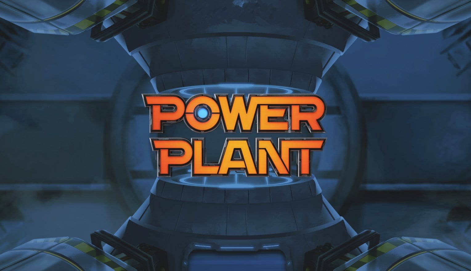 power plant slots game logo