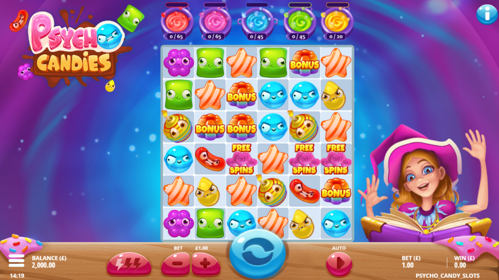 Psycho Candies Slot Game