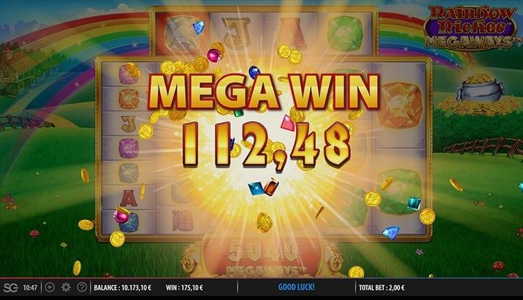rainbow riches megaways Slots Big Win
