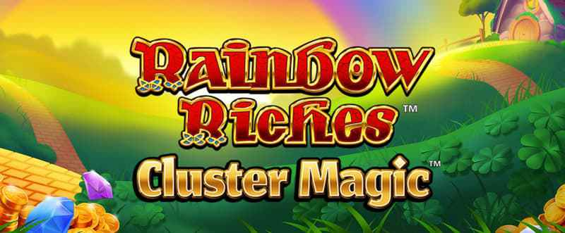 Rainbow Riches Cluster Magic Slot Wizard Slots