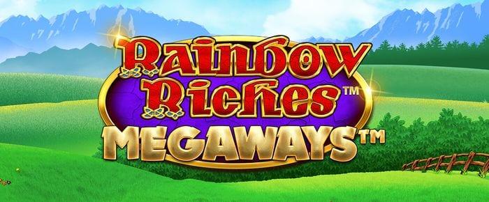 rainbow riches megaways slot logo