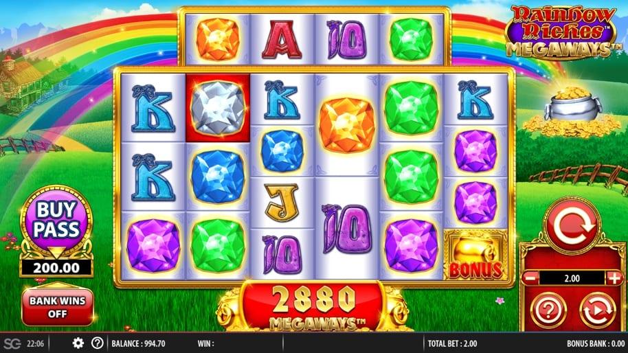rainbow riches megaways Slots Online