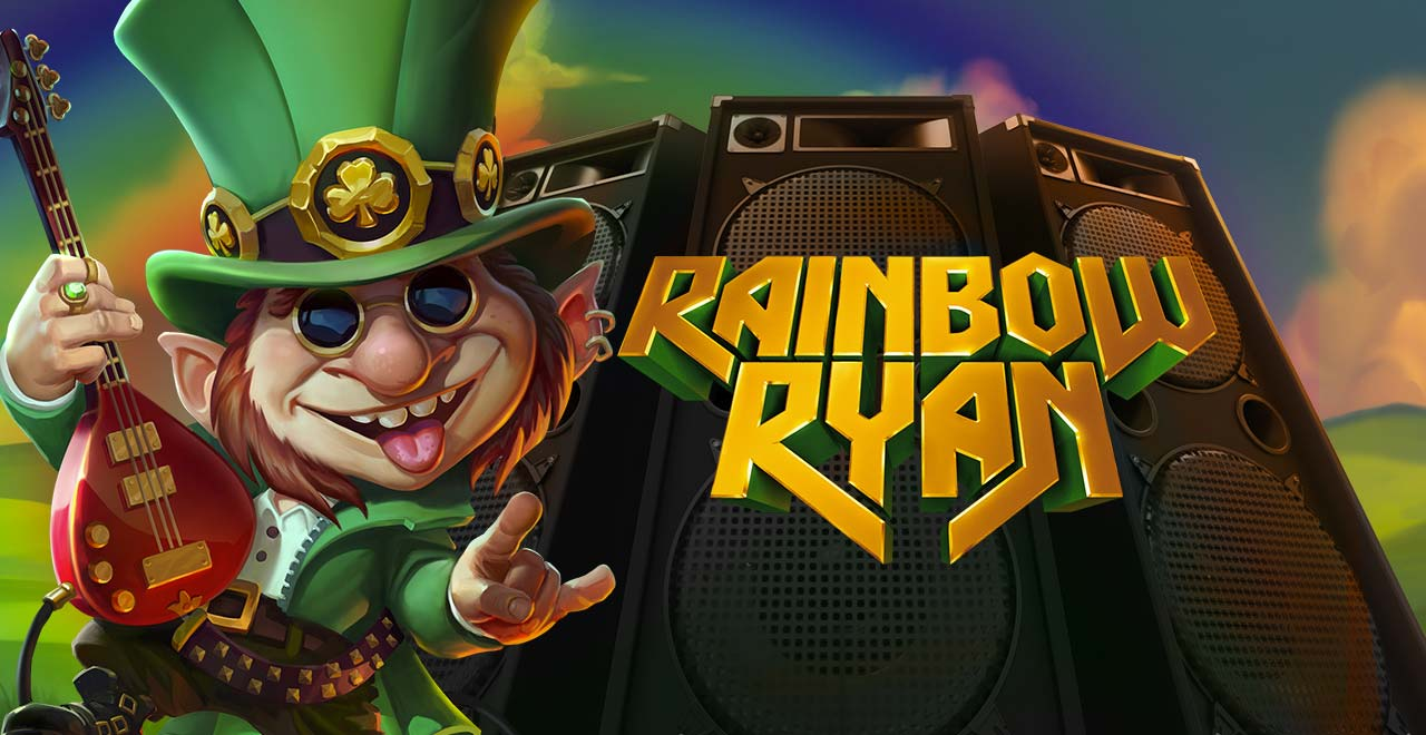 Rainbow Ryan online slots game logo