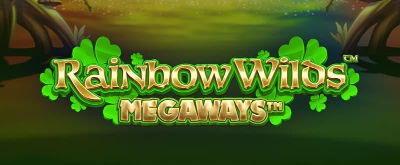 Rainbow Wilds Megaways Slot Logo Wizard Slots
